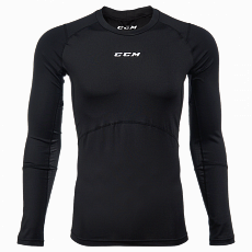 БЕЛЬЕ CCM COMPRESSION TOP WITH GEL APPLICATION L/S JR